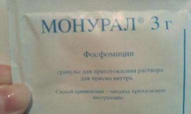 цистит у женщин симптомы и лечение лекарства монурал