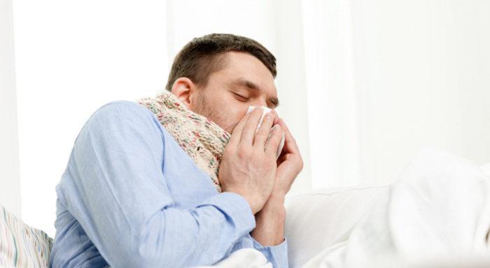 лямблиоз и заложенность носа
