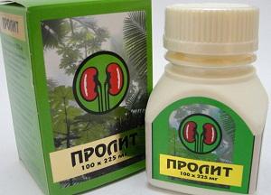 препарат пролит при мочекаменной болезни