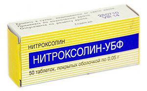 применение нитроксолина при мочекаменной болезни