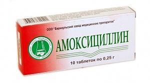амоксициллин при цистите у женщин схема лечения