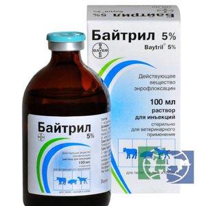 байтрил при мочекаменной болезни