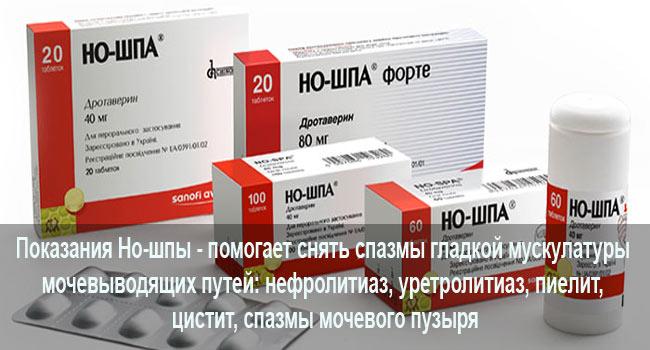 уколы для мочекаменной болезни